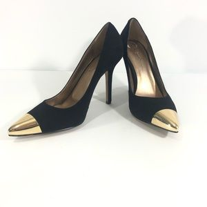 Jessica Simpson Dazed Pumps with Gold Tips